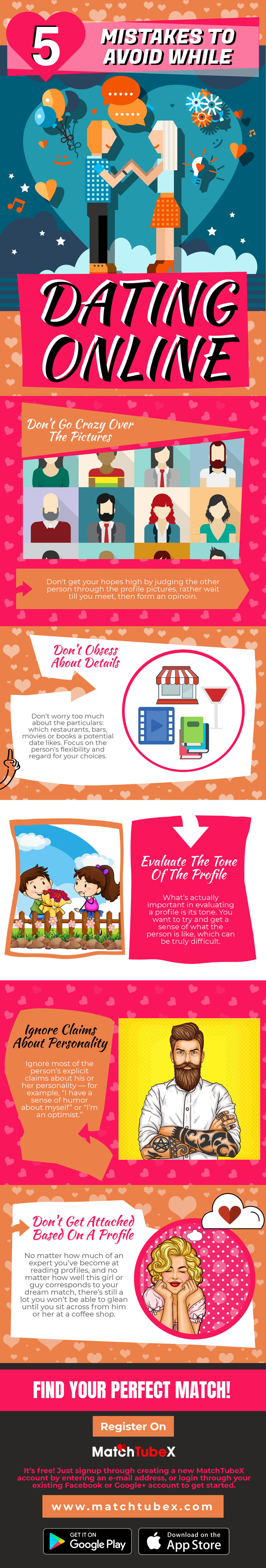 infograpgh about online dating